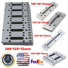 Wire Edm Fixture Board Stainless Jig Tool For Clamping And Leveling 120 300mm Us