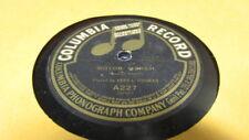 "VESS OSSMAN COLUMBIA 78 RPM RECORD 227 MOTOR MARCH ""BANJO"""