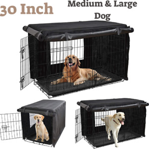 """Dog Crate Cover,30"""" Dog Kennel Cover Medium & Large Dog,Heavy Duty Oxford Fabric"""