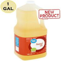 1 Gallon Peanut Cooking Oil Bottle Neutral Flavor High Heat Frying Home Cook NEW