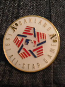 1987 All Star Pin - Oakland A's