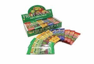 FRUTINA FRUIT SNACK  VARIETY PACK  of 60 x 15g BARS 100%fruit only