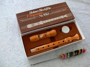 Hohner sopranino 9563 recorder