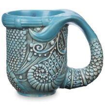 Disney Parks The Little Mermaid Ariel Nautical Art Nouveau Coffee Tea Mug New