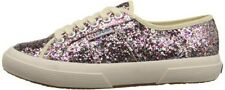 Superga Chunky Glitter Fashion Canvas Sneaker Toddler/Kids Girls Size 13.5 US
