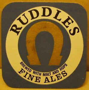 Old Ruddles Fine Ales Pub beer mat