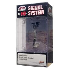 Atlas ~ New 2020 ~ HO Scale Signal Type G ~ Bi-Directional ~ W/LED's ~ 70000078