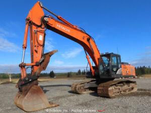 2012 Hitachi ZX350LC-5N Excavator Hydraulic Thumb Aux Hyd Q/C A/C Cab bidadoo