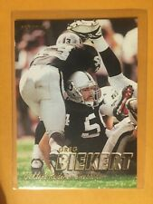 1997 Fleer Raiders Greg Biekert Football Card #375