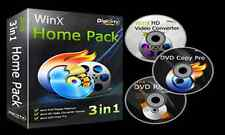 WinX 3 In 1 Home Pack-DVD Ripper-DVD Copy Pro-Video Converter Pro-DVD Burner