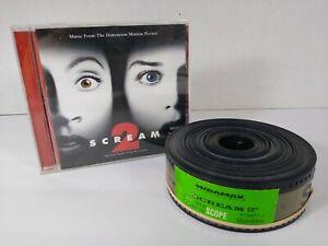 Scream 2 - 35mm Trailer Filmstrip & Soundtrack CD - Wes Craven 1997