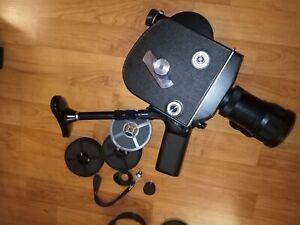 16 mm film camera produced by Krasnogorsky 3    Meteor Lens-5-1 17-69 mm f/ 1.9