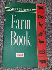 1951 CITIES SERVICE FARM BOOK TRACTOR EQUIPMENT SERVICE MANUAL AGRICULTURAL