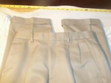 Dockers polyester pleated cuffed polyester 30 x 29 #527