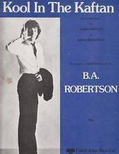 Kool en el Kaftan-B a Robertson - 1980 Partituras