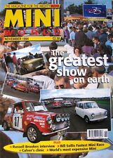 RARE VERY COLLECTABLE MINI WORLD MAGAZINE NOVEMBER 1994  IN VERY GOOD CONDITION
