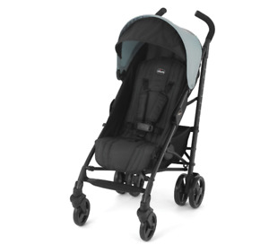 Baby Stroller, lightweight travel buggy with safety cover, folding, compact, new