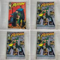 (Lot Of 2) Robin #1, And 2 (Of 5) DC Comics 1990 Chuck Dixon, Tom Lyle
