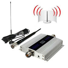 Cellular Repeater LCD 900Mhz GSM Mobile phone Signal Booster Amplifier Antenna