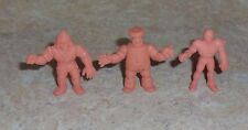 M.U.S.C.L.E. MEN 3 Figure Lot  - Group Y -  Muscles Muscle pvc figures