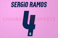 Sergio Ramos #4 2016-2017 Real Madrid Homekit Nameset Printing