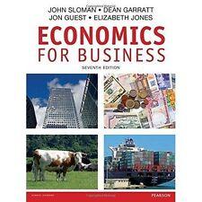 Economics for Business by John Sloman, Jon Guest, Dean Garratt, Elizabeth Jones
