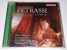 Goffredo Petrassi: Magnificat; Salmo IX (CD, 2013, Chandos) new