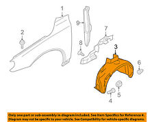 VOLVO OEM 07-16 S80-Front Fender Liner Inner Splash Shield Guard Right 31294807