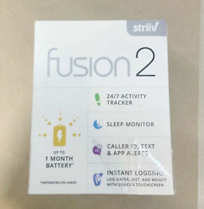 NEW Striiv Fusion 2 Smartwatch and Activity & Sleep Tracker w/3 Color Wristbands
