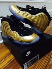 Nike Air Metallic Gold Foamposite size 6 1/2