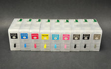 9pcs Refillable Ink Cartridge for Epson Stylus Pro 3880,UltraChrome K3 Pigment