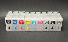 9pcs Refillable Ink Cartridge for Epson Stylus Pro 3880,UltraChrome K3 Pigment