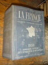 annuaire officiel des syndicats d'initiatives 1938