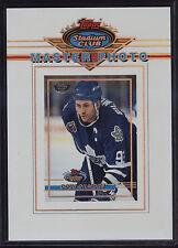 1993 Stadium Club Members Only Master Photo Doug Gilmore Toronto Maple Leafs