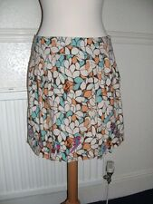 Laura Lees for Topshop size Small Retro Pattern Mini Skirt 8 ball logo Festival