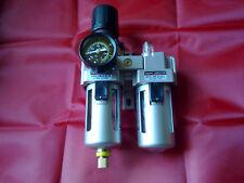 1/4 Air Regulator Filter Lubricator for Air Compressors Pneumatics, garage use