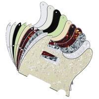NEW FD Tele Electric Guitar Pickguard Mini Humbucker Style 8-Hole Scratch Plate