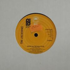 """THE JACKSONS 'SHOW YOU THE WAY TO GO' UK 7"""" SINGLE"""