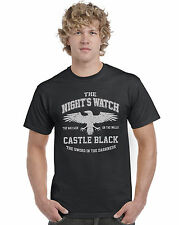 The night's Reloj' Castle Negro ' JUEGO DE TRONOS unisex Top Camiseta
