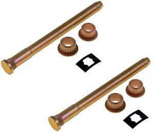Door Hinge Pin and Bushing Kit - Set of Two - Fits GM Trucks 88-00