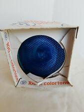 WESTINGHOUSE COLORTONE FLOODLIGHT BULB BLUE 100 WATT