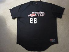 Southeastern University Fire #28 Game Used Worn NCAA Baseball Nike Jersey 2XL 2X