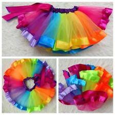 good quality girls Rainbow tutu dress
