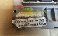 04896226AE 2002 CHRYSLER 300M 3.5L ENGINE CONTROL UNIT