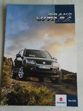 Suzuki Grand Vitara brochure Aug 2006 Unidentified market English text