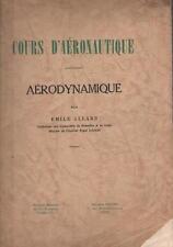 Cours d'Aéronautique : Aérodynamique - Emile Allard