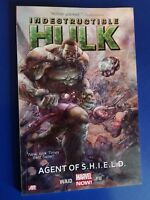 Marvel Indestructible Hulk Agent Of Shield VOL 1. NEW MSRP $19.99