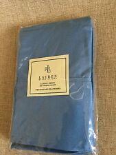 Ralph Lauren Oceanside Blue  350 Thread Count Supima Cotton Standard Pillowcases