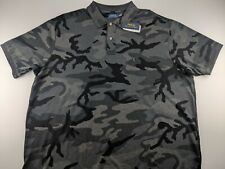 NEW Polo Ralph Lauren Classic Men 4XLT 4XL Tall Grey Camouflage Polo Shirt Camo