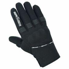 STR TM-01 Motorbike gloves,Leather & textile mix. MBL Touch Screen Finger Gloves
